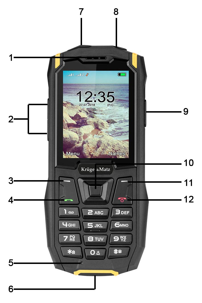pancerny telefon iron 2 opis