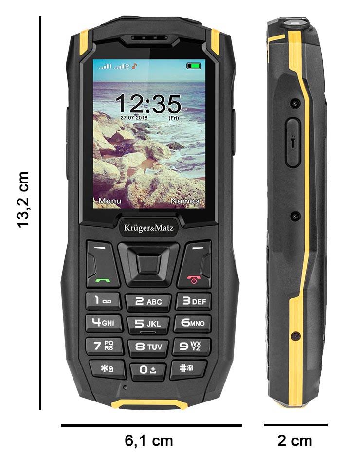 pancerny telefon iron 2 wymiary