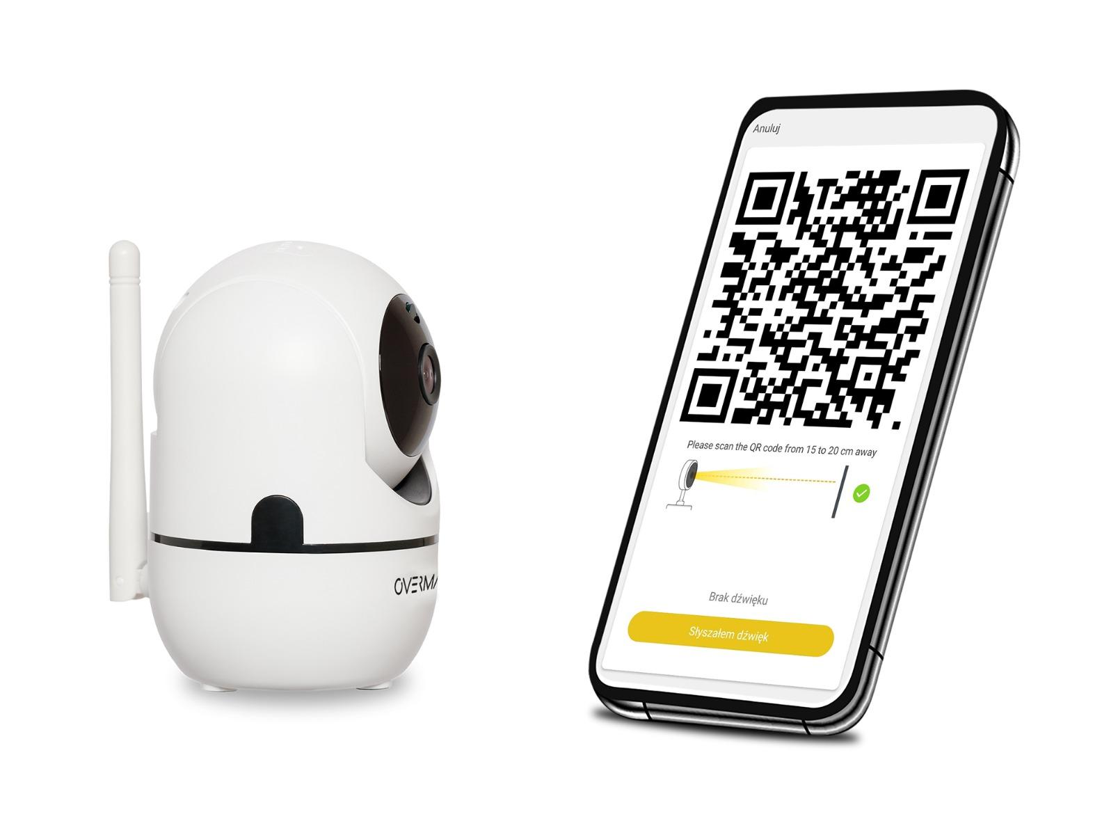 kamera ip wifi overmax konfiguracja