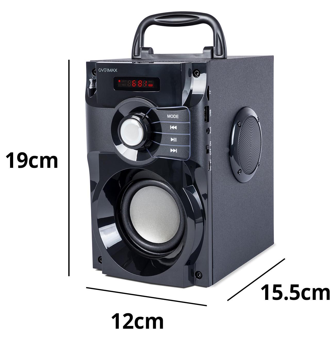 overmax soundbeat 2.0 wymiary