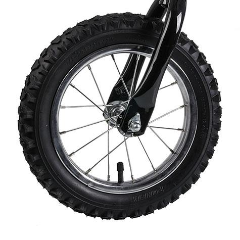 rowerek biegowy koło dmuchane