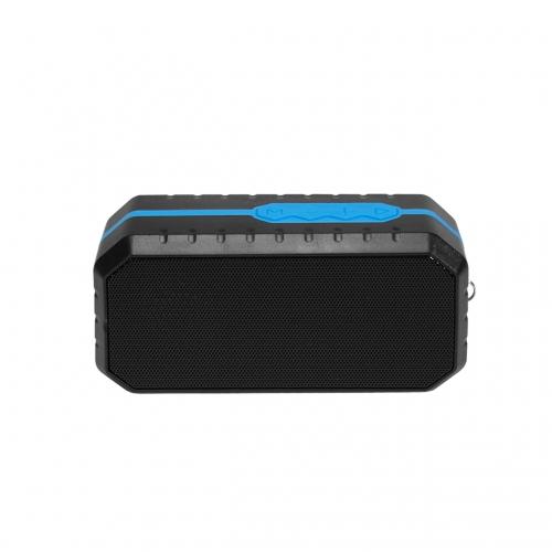 Przenośny Głośnik bluetooth ART AS-B03 Czarno-niebieski mikrofon FM SD 3W wodoodporny