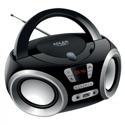 Radio Boombox Adler AD 1181  CD-MP3 USB