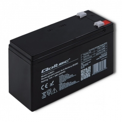 Akumulator żelowy Qoltec 12V 9Ah
