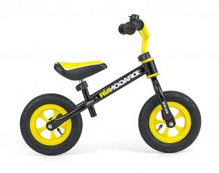 Rowerek biegowy z dzwonkiem Milly Mally Dragon Air czarny