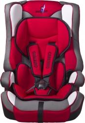 Fotelik samochodowy  Caretero VIVO czerwony 9-36 kg podstawka