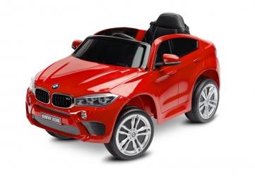 Samochód auto na akumulator Caretero Toyz BMW X6 akumulatorowiec + pilot zdalnego sterowania - czerwony