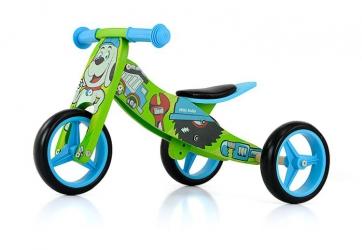 Jeździk rowerek biegowy 2w1 Milly Mally Jake Army