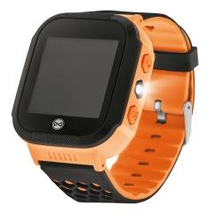 Zegarek smartwatch Forever Find Me KW-200 dla dzieci z lokalizatorem GPS SOS zielony