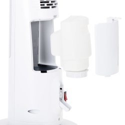 """Grzejnik kolumnowy LCD Gerlach GL 7733 z nawilżaczem  powietrza 75cm / 29"""" wentylator"""