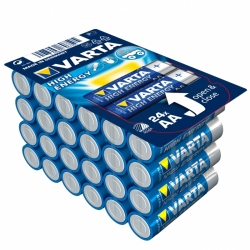 Baterie alkaliczne AA VARTA R6 Longlife Power High Energy 24szt