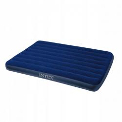 Nadmuchiwany materac łóżko dwuosobowe classic Intex 137cm x 191cm x 22cm