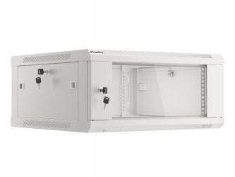 Szafa instalacyjna RACK V2 wisząca 19'' 4U 600x600 drzwi szklane Lanberg  - szara