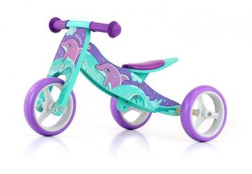 Jeździk rowerek biegowy 2w1 Milly Mally Jake Bob