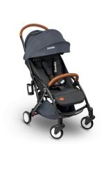 Wózek spacerowy LIONELO JULIE ciemno-szary + moskitiera + ocieplacz na nóżki + torba do przenoszenia