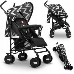 Wózek spacerowy  LIONELO ELIA OSLO + folia przeciwdeszczowa + moskitiera kolor z limitowanej edycji