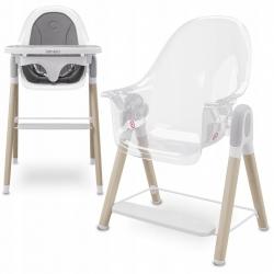 Krzesełko do karmienia 2 w 1 Lionelo Maya - białe