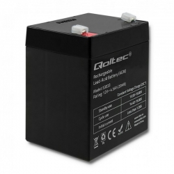 Akumulator żelowy Qoltec 12V 4.5Ah