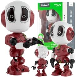 Interaktywny mówiący robot REBEL VOICE czerwony