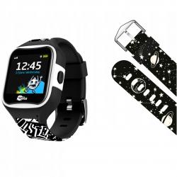 Zegarek smartwatch dla dzieci Motus Watchy Monster&Cosmos GPS WiFi + dodatkowy pasek