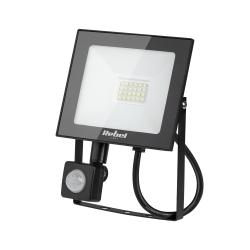 Halogen lampa LED naświetlacz Rebel 20W SMD 6500K 1600 lm z sensorem zmierzchu
