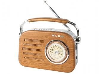 Przenośne radio analogowe BLOW RA3  AM/FM Bluetooth USB SD
