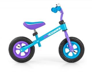 Rowerek biegowy z dzwonkiem Milly Mally Dragon Air turkusowy