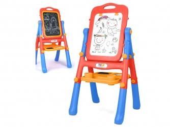 Magnetyczna tablica edukacyjna Caretyero Toyz Red dwustronna klasyczna i whiteboard