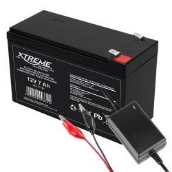 Akumulator żelowy XTREME 12V 7.0Ah + ładowarka