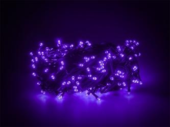 Lampki ozdobne choinkowe fioletowe Led 300szt 24m