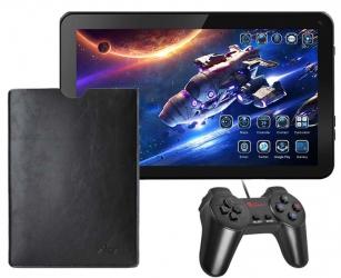 Tablet dla gracza 10'' gamingowy +pad +etui +gry - komunia
