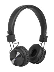 Bezprzewodowe słuchawki nauszne Kruger&Matz Wave BT kolor czarny