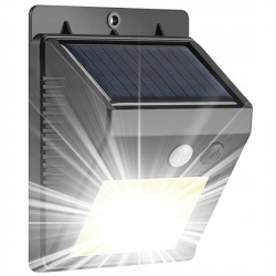 Lampa solarna LED LTC 5W z czujnikiem ruchu i zmierzchu