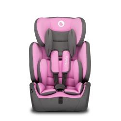 Fotelik samochodowy Lionelo LEVI SIMPLE różowy 9-36 kg