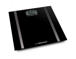 Analityczna waga łazienkowa Esperanza SAMBA czarna