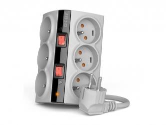 Listwa zasilająca ACAR SMART 1,5m 5X 230V PL biała