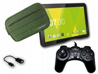 Tablet dla gracza gamingowy +pad +etui +gry