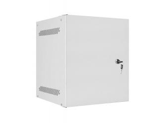 Szafa instalacyjna RACK wisząca 10'' 6U 280x310 drzwi metalowe Lanberg - szara