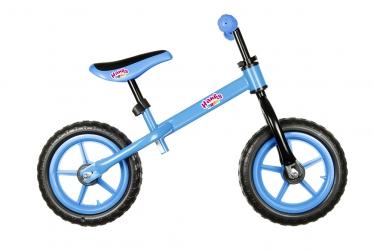 Rower rowerek biegowy Hankskids Easy 12'' koła EVA - niebieski
