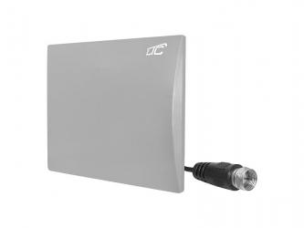 Panelowa antena DVB-T pokojowa LTC do odbioru telewizji naziemnej - szara