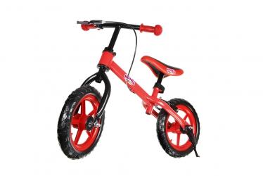 Rower rowerek biegowy Hankskids Safe 12'' hamulec nóżka koła EVA - niebieski