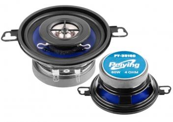 """Głośniki samochodowe Peiying 3.2"""" 60W 4 Ohm komplet"""
