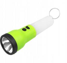 Akumulatorowa latarka ręczna 2w1 lampka wisząca LTC LED 2W + 1W SMD
