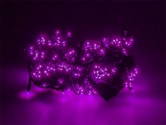 Lampki ozdobne choinkowe fioletowe Led 200szt 16m