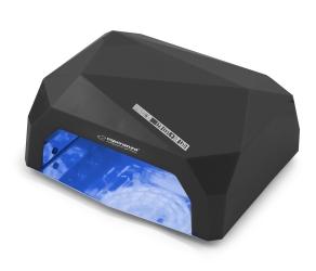 Lampa do paznokci UV/LED Esperanza Onyx 36W do lakieru hybrydowego, żelu - czarna