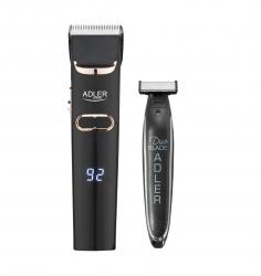 Zestaw maszynka do włosów Adler AD 2832 + trymer do zarostu Adler AD 2922