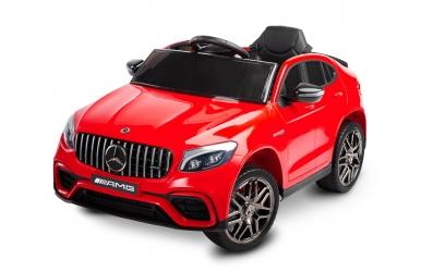 Samochód auto na akumulator Caretero Toyz Mercedes-Benz GLC 63S AMG akumulatorowiec + pilot zdalnego sterowania - czerwony