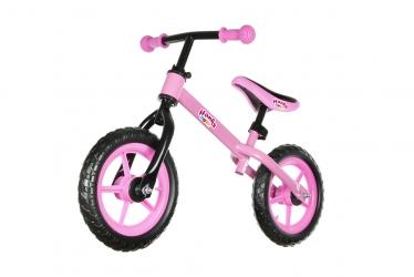 Rower rowerek biegowy Hankskids Easy 12'' koła EVA - czerwony