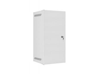 Szafa instalacyjna RACK wisząca 10'' 12U 280x310 drzwi metalowe Lanberg - szara