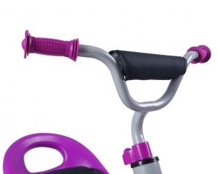 Rowerek trójkołowy dziecięcy Caretero Toyz York z pedałami - fioletowy